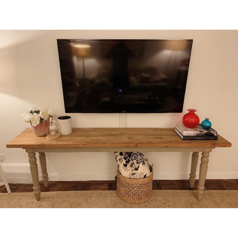 ABC Carpet & Home Long Console Wooden Table-2