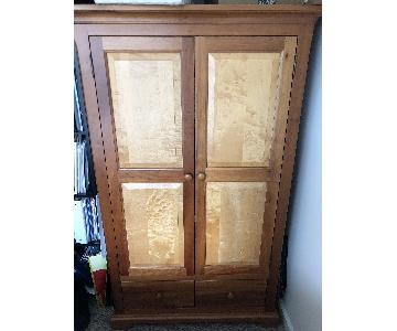 Amish Made Cabinet w/ Storage