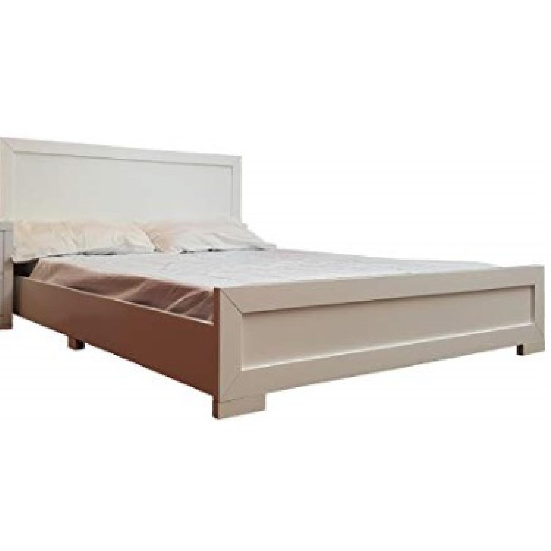 Camden Isle Oxford Low Queen Bed Frame Aptdeco
