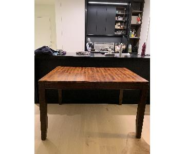 Expandable Acacia Dining Table