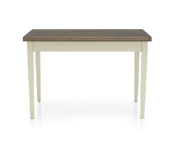 Crate & Barrel Vamelie Small Extendable Dining Table