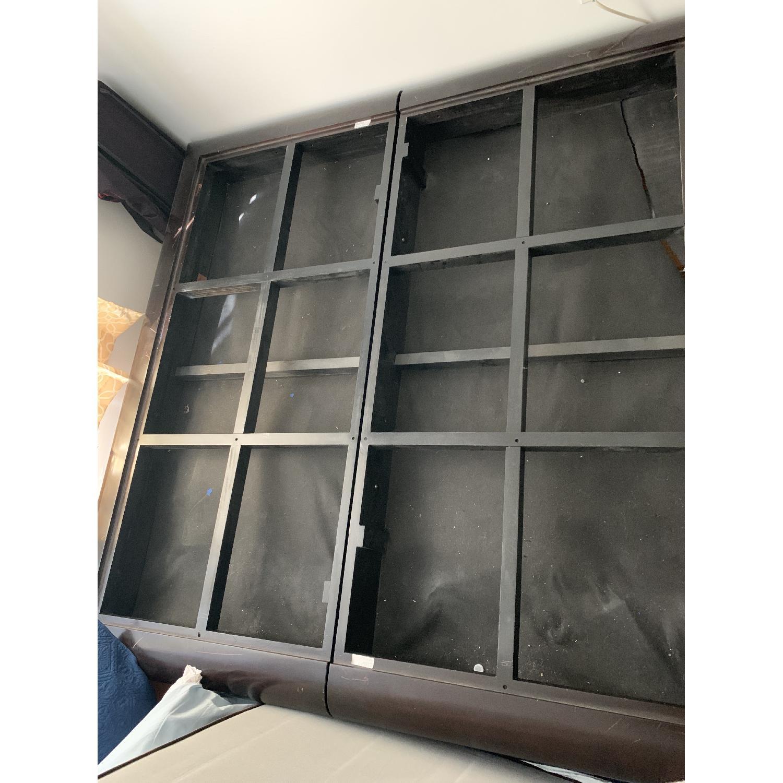 California King Platform Bed Frame w/ Java Cafe Varnish-2