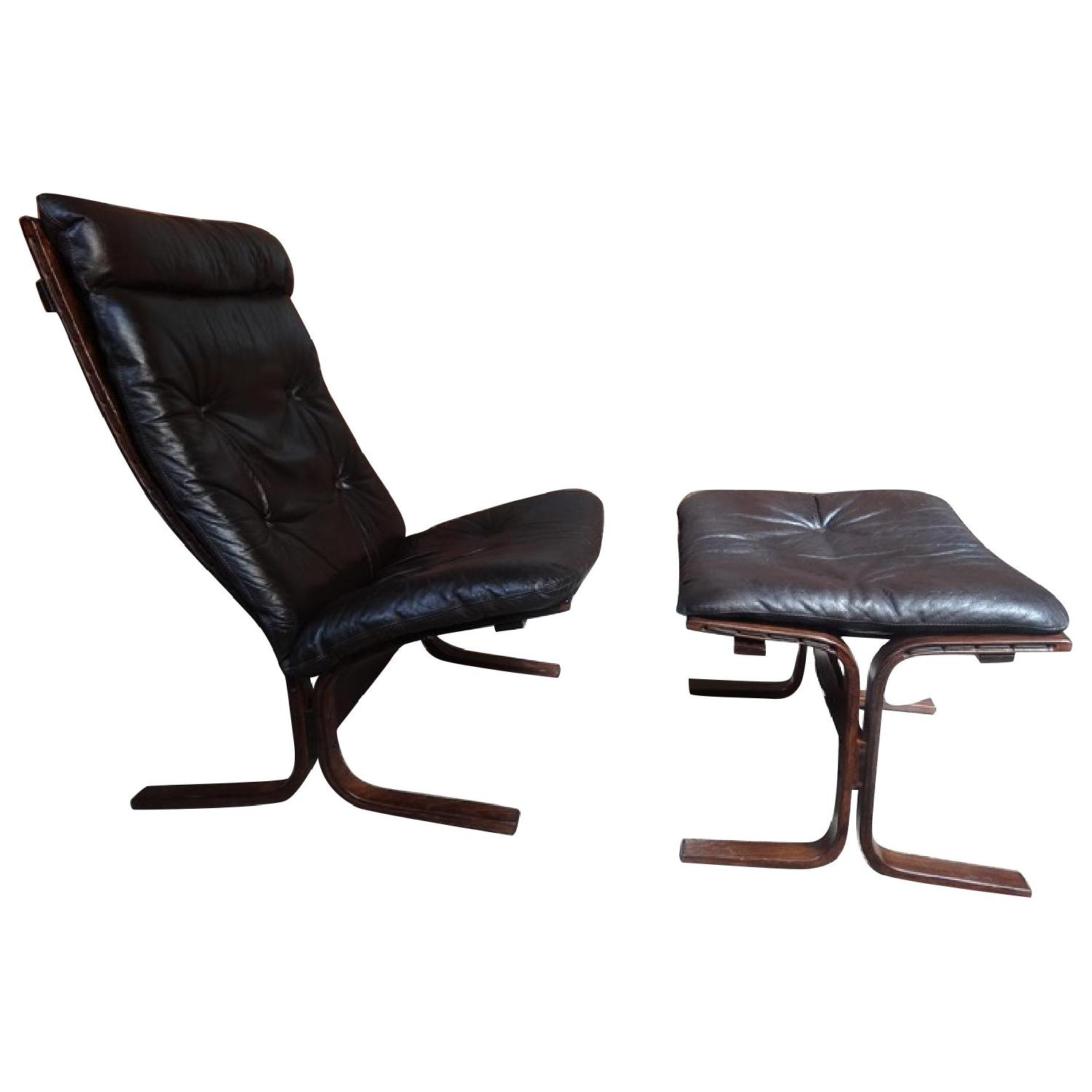 Relling Lounge Chair & Ottoman