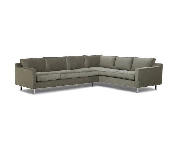 Mitchell Gold + Bob Williams Hunter Studio Sectional Sofa