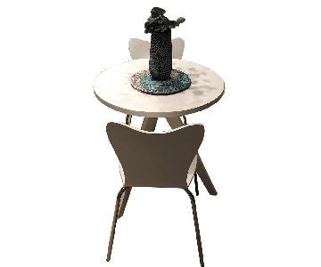 West Elm Cafe Table w/ 2 Chairs