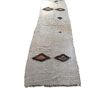 Antique Hand Woven Rug