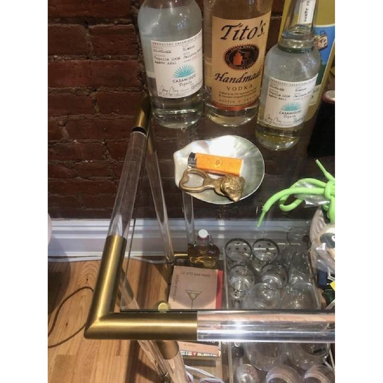 Anthropologie Oscarine Lucite Bar Cart-2