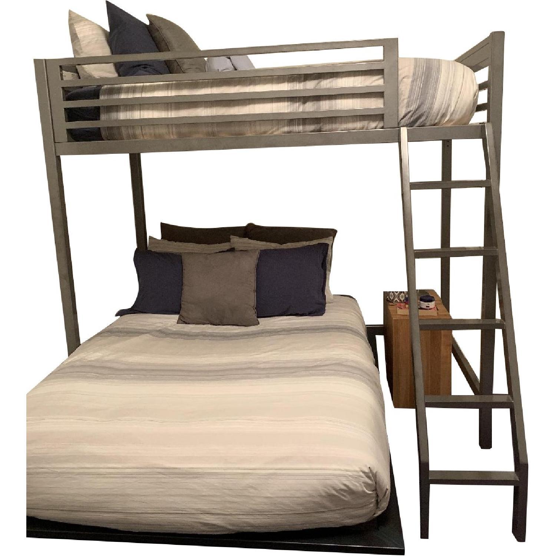 Amazing Pottery Barn Teen Twin Metal Loft Bed Aptdeco Dailytribune Chair Design For Home Dailytribuneorg