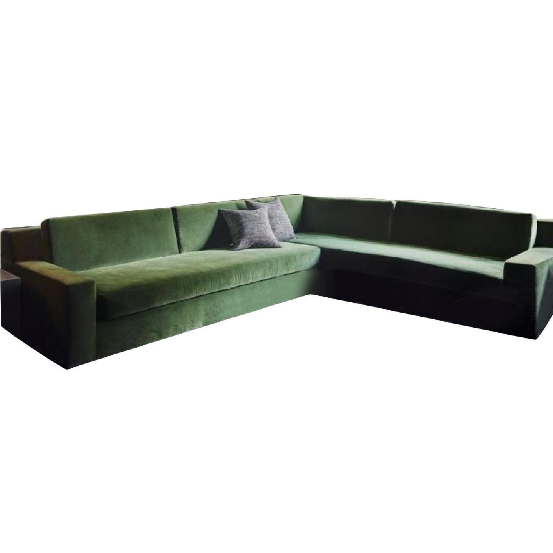 Terrific Restoration Hardware Sectional Sofa In Versailles Green Unemploymentrelief Wooden Chair Designs For Living Room Unemploymentrelieforg