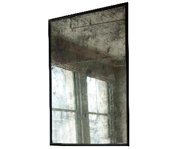 Ochre Mercury Glass Mirror