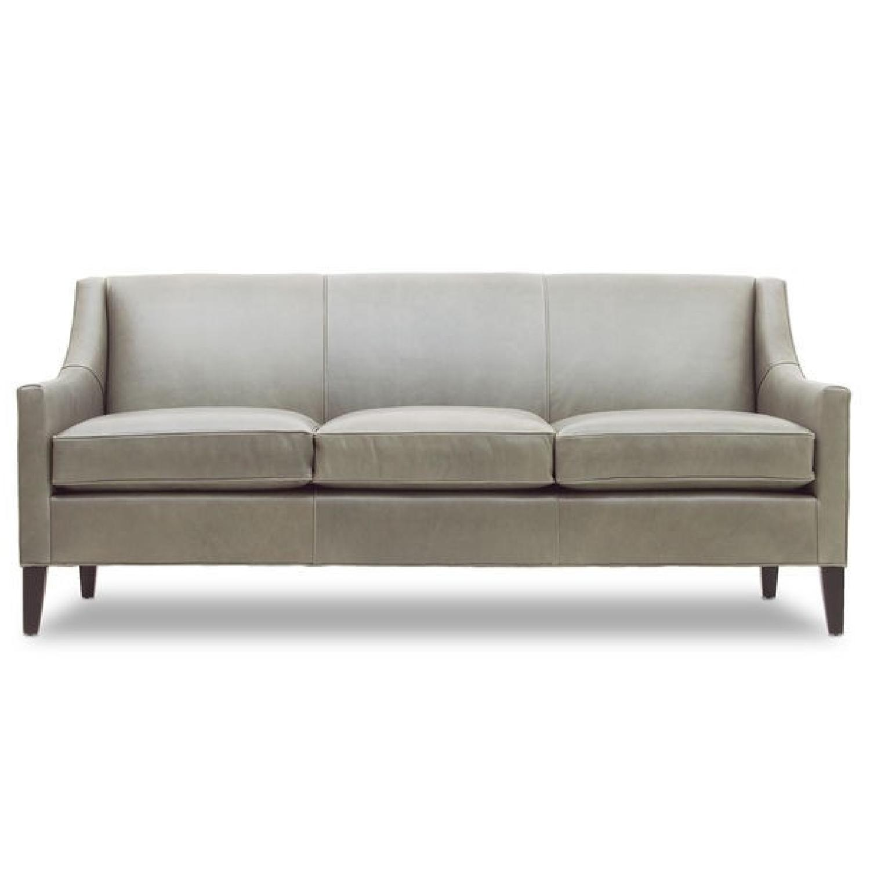Mitchell Gold + Bob Williams Cara Boulevard-Light Gray Sofa