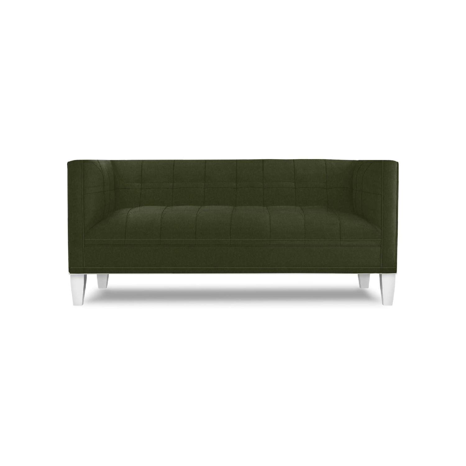 Mitchell Gold + Bob Williams Kennedy Linley Green Loveseat-1