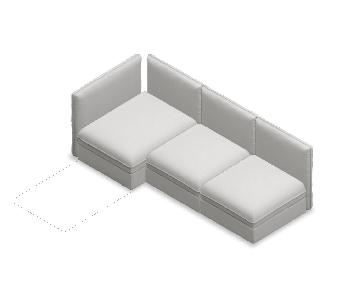 Ikea Vallentuna Sleeper Sectional Sofa w/ Storage