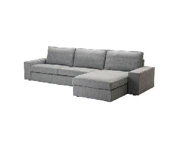 Ikea Kivik 3 Piece Sectional Sofa w/ Chaise