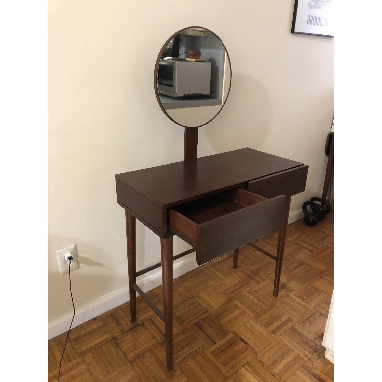 Urban Outfitters Mid Century Vanity Desk Aptdeco
