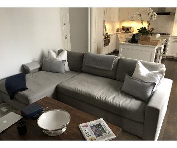 Restoration Hardware Maxwell Sofa Left-Arm Chaise Sectional