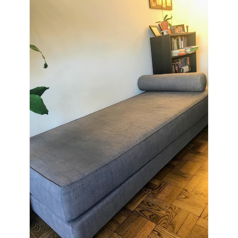 CB2 Modern Grey Daybed