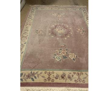 Chinese Hand Knotted Wool Rug