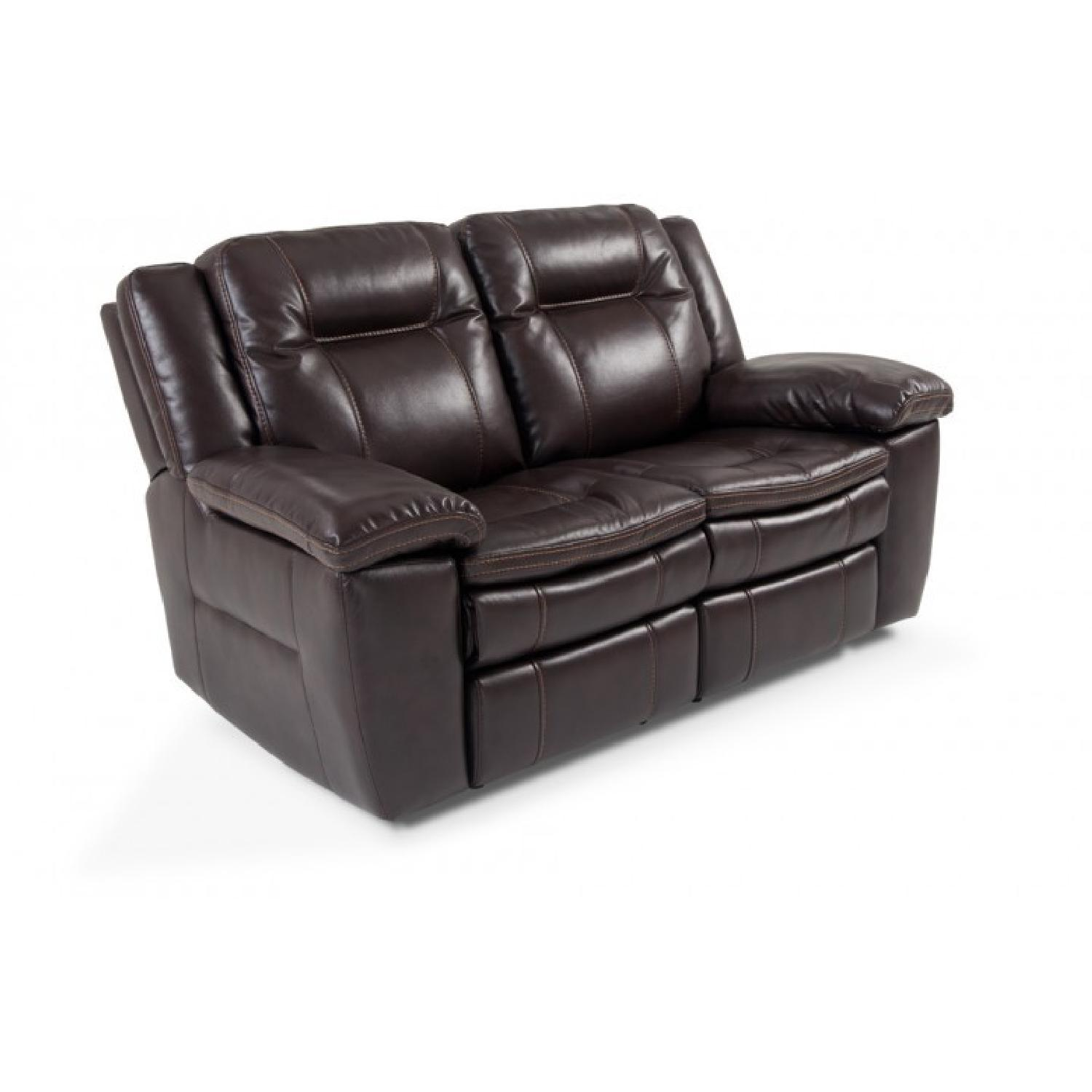 Bobs Grand Prix Power Reclining Loveseat