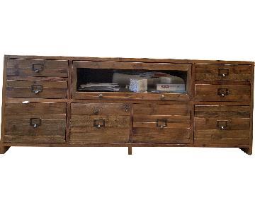 Crate & Barrel Reclaimed Wood Media Console