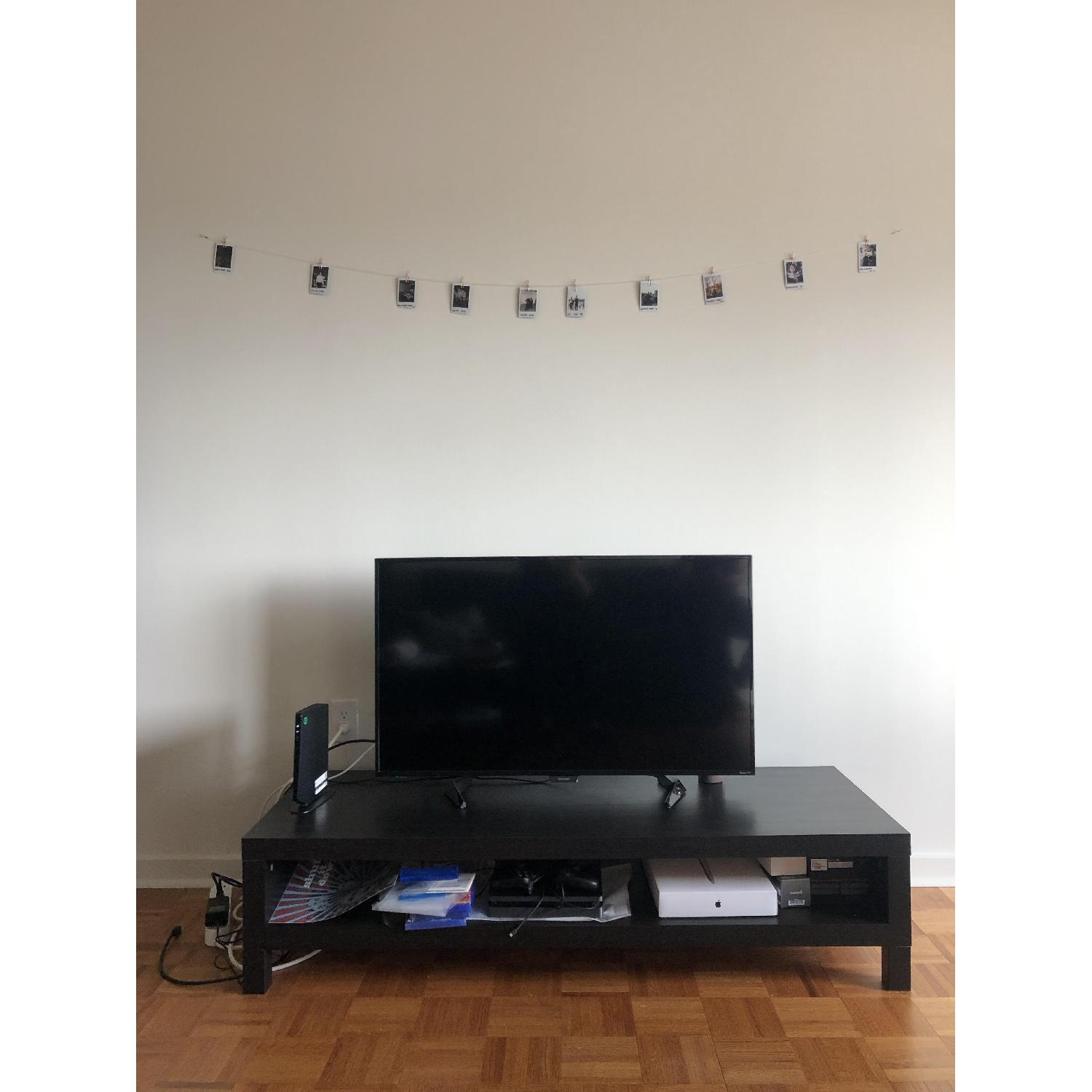 Fine Ikea Lack Tv Unit In Black Brown Aptdeco Ocoug Best Dining Table And Chair Ideas Images Ocougorg