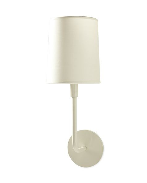 Serena & Lily Fairmont White Sconces
