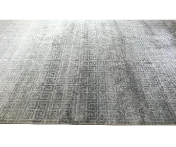 ABC Carpet and Home Silk/Wool Area Rug