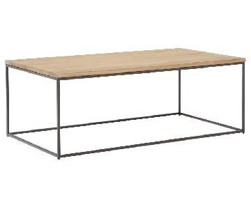 West Elm Streamline Coffee Table