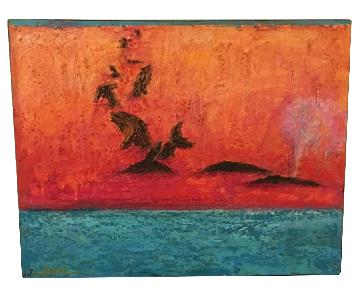 Whale Watching on Wood