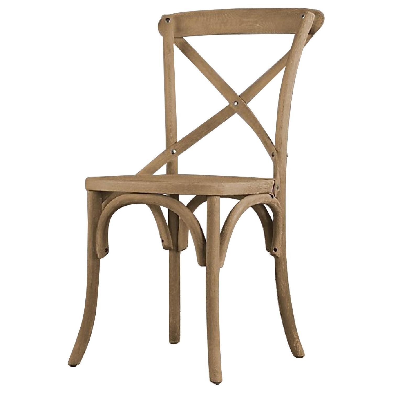 Restoration Hardware Madeleine Side Chairs w/ Custom Cushion - per set of 2  sc 1 st  AptDeco & Restoration Hardware Madeleine Side Chairs w/ Custom - AptDeco