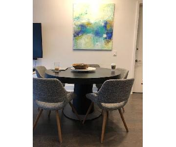 BoConcept Granada Extendable Table w/ 5 Chairs