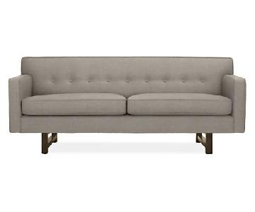 Room & Board Andre Sofa in Teton Pewter