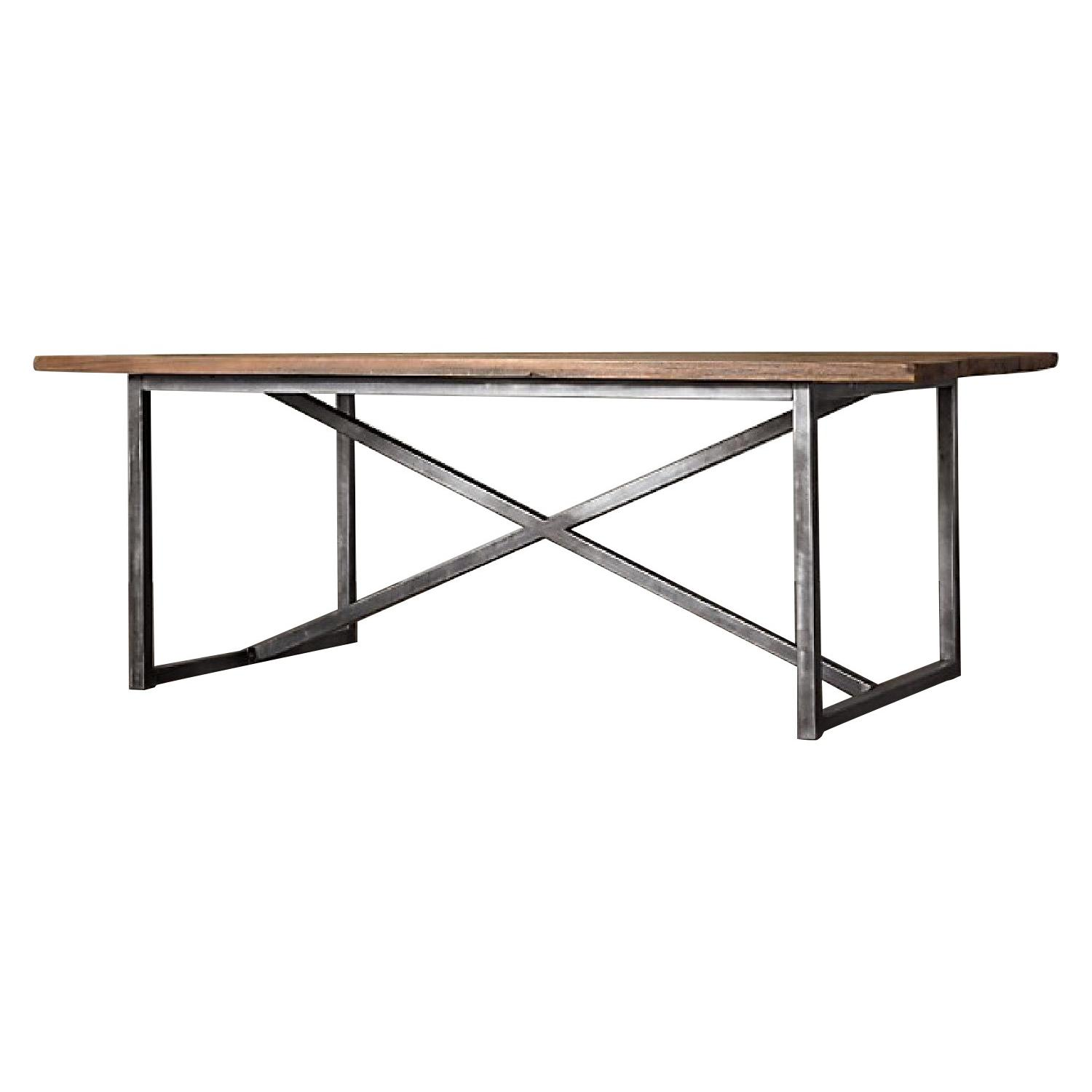 Restoration Hardware Salvaged Boatwood Dining Table