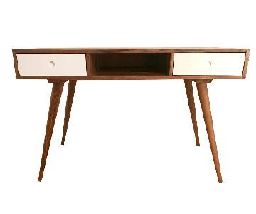 Mid Century Modern Wood Desk