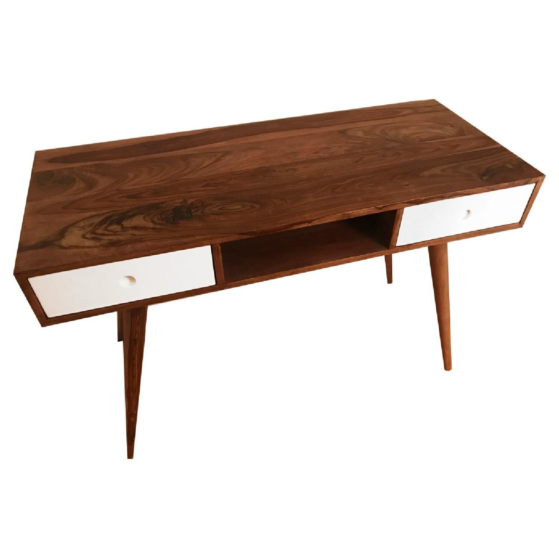 Mid Century Modern Wood Desk-0