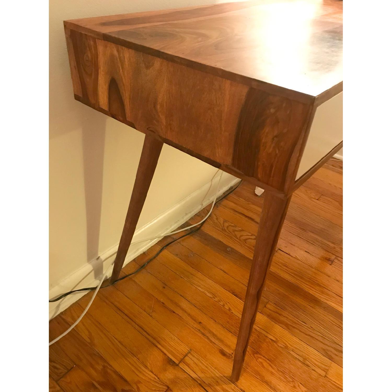 Mid Century Modern Wood Desk-1