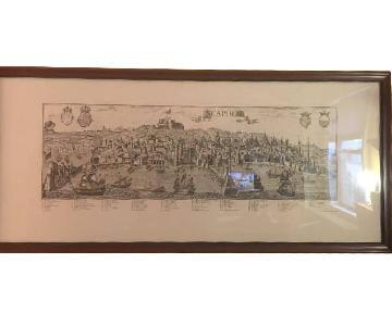 Framed Naples Print