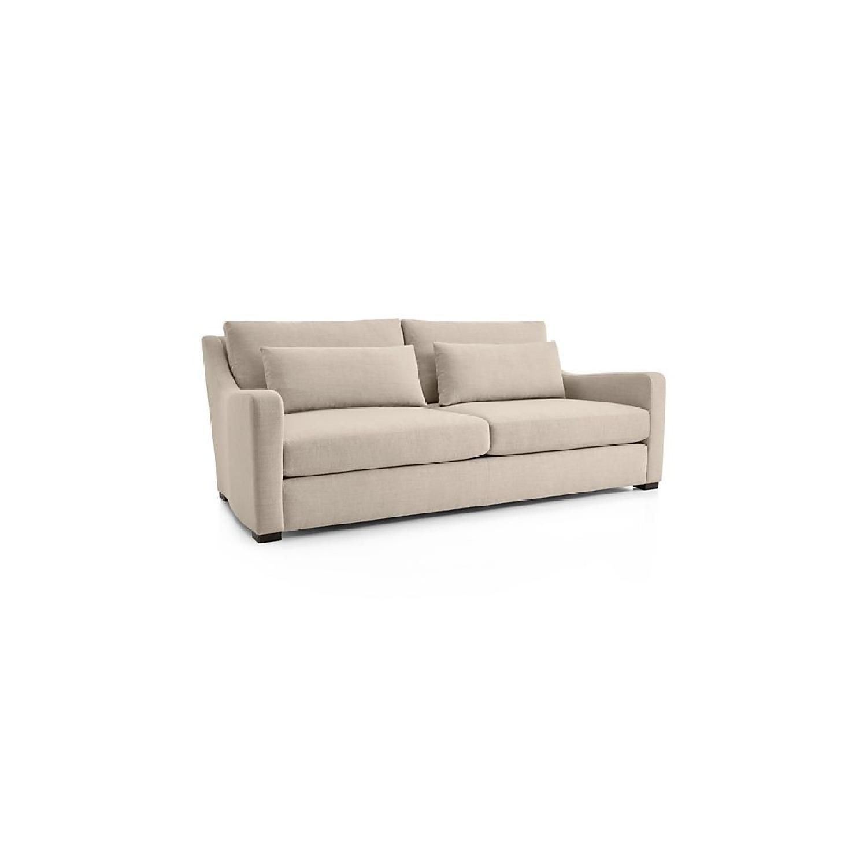 Crate & Barrel Beige Sofa