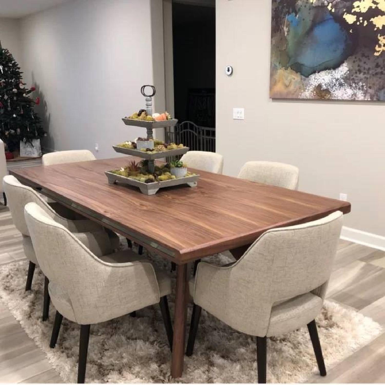 Vig Furniture Wood Dining Table W 1 Bench Aptdeco