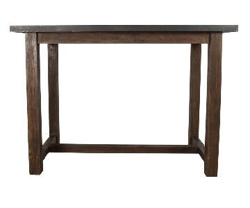 Crate & Barrel Galvin High Top Dining Table