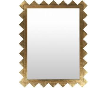 Brayden Studio Gold Accent Mirror