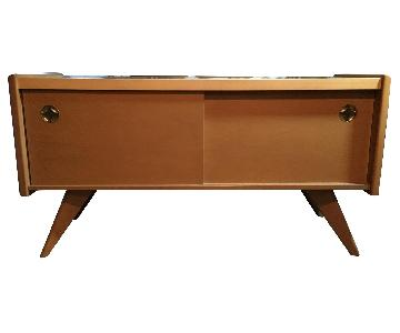Russell Spanner Buffet Table in Maple