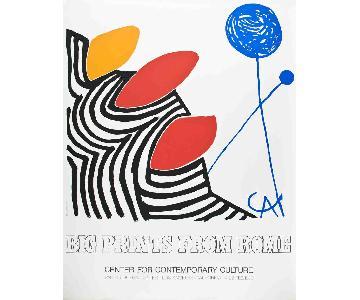 Alexander Calder - Big Prints from Rome - 1980 Serigraph