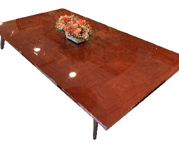 Custom Expandable Dining Table