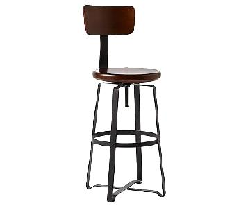 West Elm Adjustable Industrial Swivel Stools