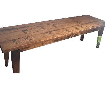 Restoration Hardware Custom Dining Room Table