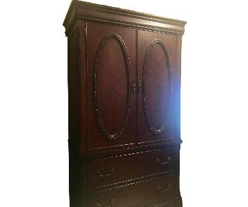 Raymour & Flanigan Cherry Armoire