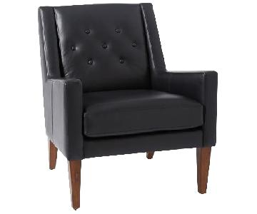 West Elm Library Leather Chair