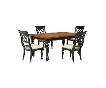 Macy's Dakota Extension Dining Table w/ 4 Chairs