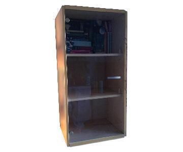 Gautier Furniture Glass Door Book/Display Unit